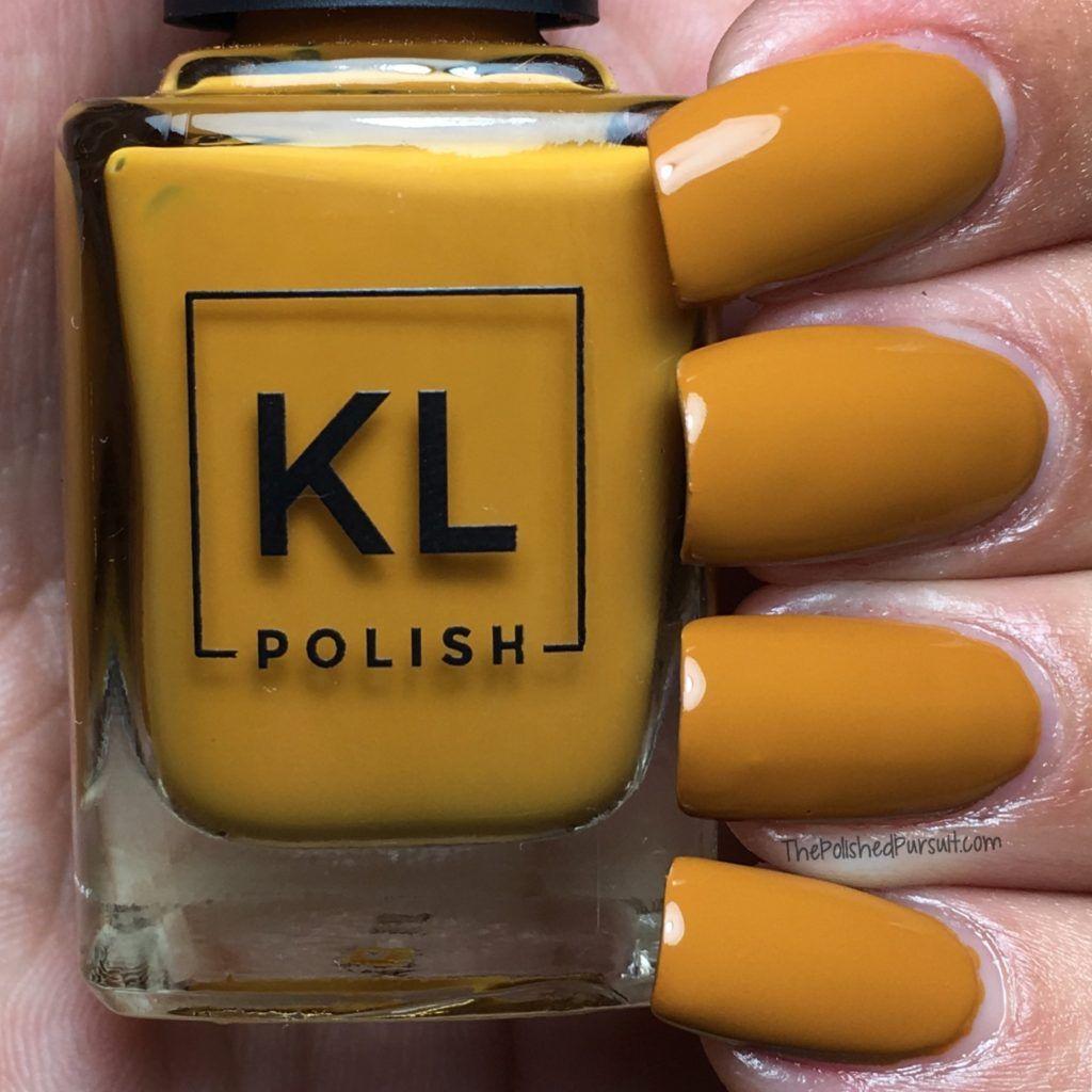 KL Polish by Kathleen Lights | Nail nail, Yellow nail polish and ...