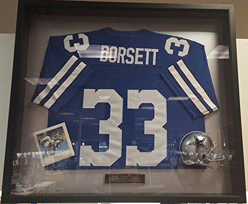 detailed look 24bb3 c364a Tony Dorsett Autographed Dallas Cowboys Mini Helmet, framed ...