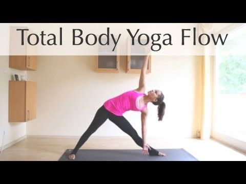 10 minute total body yoga flow - YouTube   yoga and SUP