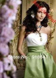 vestido verde branco para dama de honra - Pesquisa Google