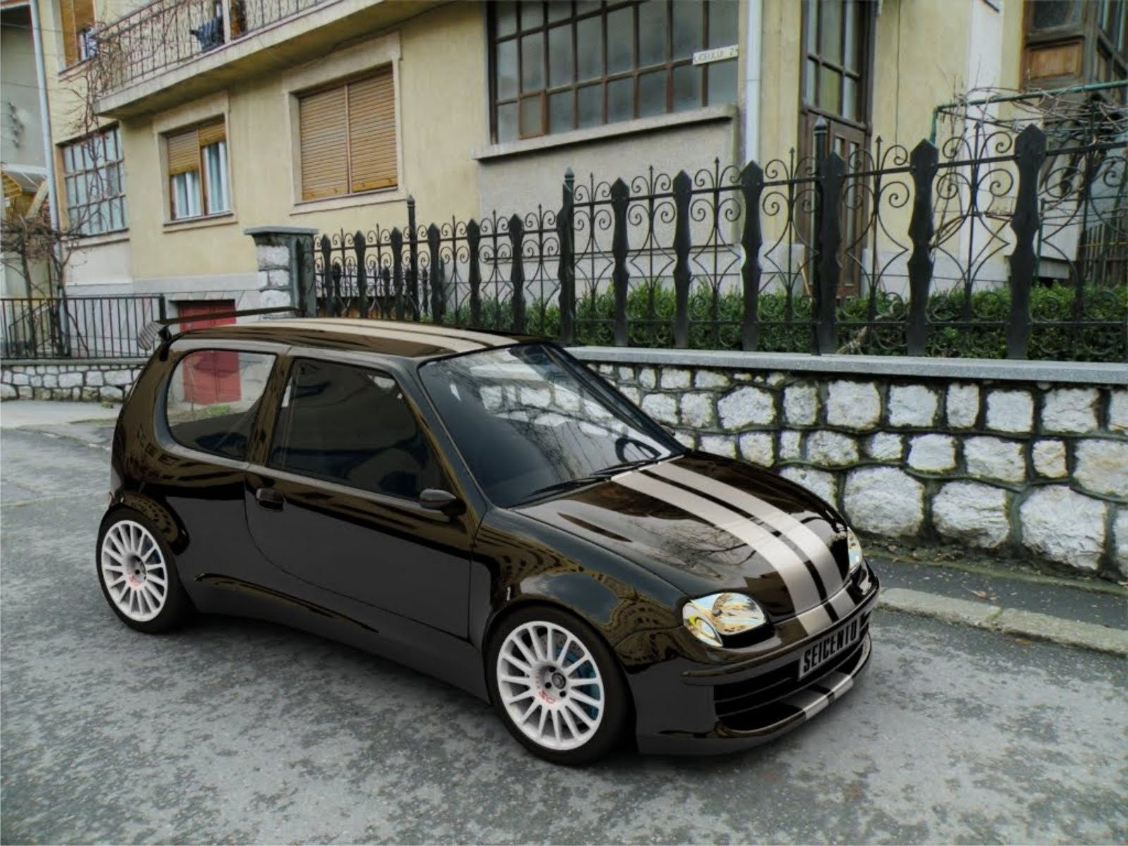 1997 Fiat Seicento Sporting With Abarth Sport Kit Picture Con