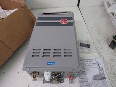 Rheem Rtg 95xlp 9 5 Gpm Outdoor Tankless Propane Water Heater Low Nox Home Improvement