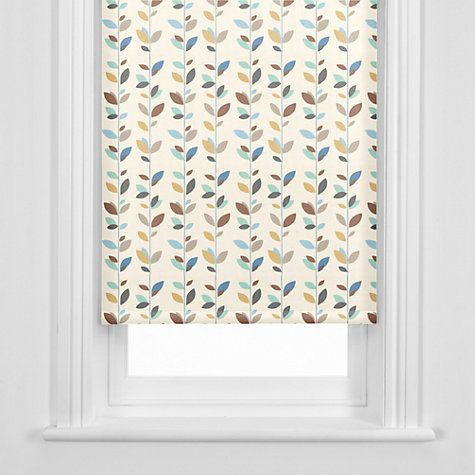 Buy John Lewis Evergreen Roller Blind Duck Egg Online At Johnlewis