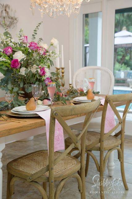 Elegant Table Centerpiece French Country Decorating Elegant