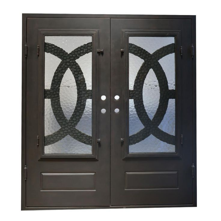 Pin By Priti Sharma On Doors Wrought Iron Glass Door Iron Doors Exterior Door Hardware