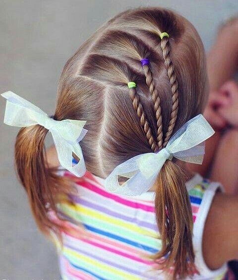 Pin de Claudia en varios Peinados de niña bebé, Peinados