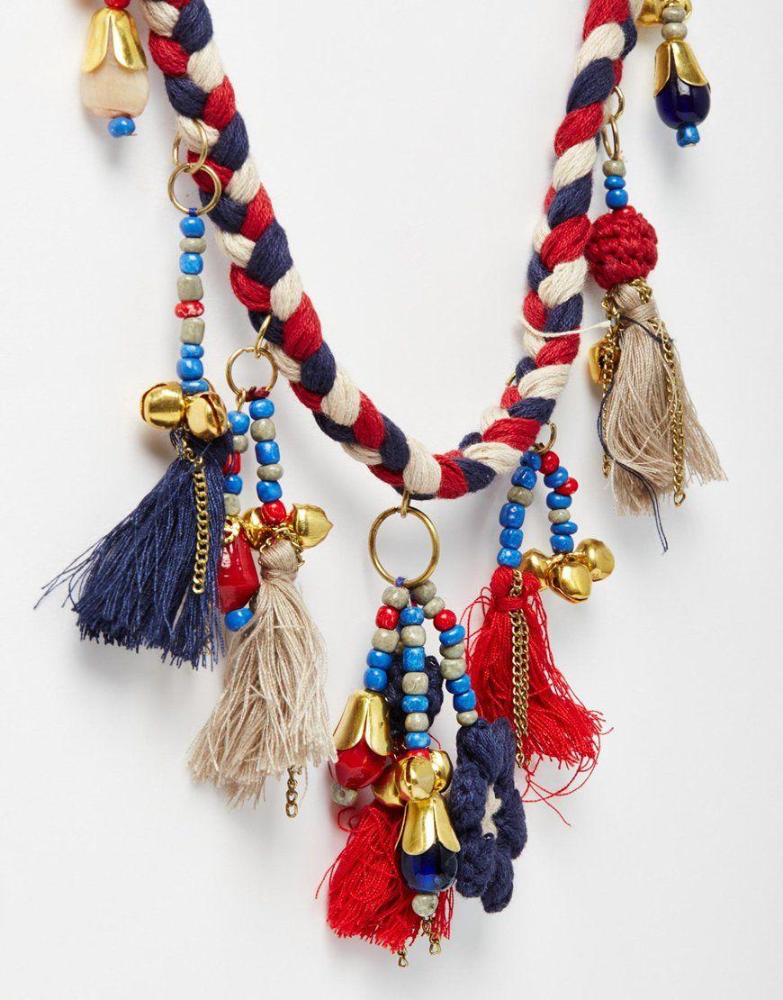 Image 2 ofTurkish Delight Tassel Necklace