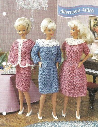Barbie Fashion Doll Crochet Patterns - Bing images   Barbie clothes ...