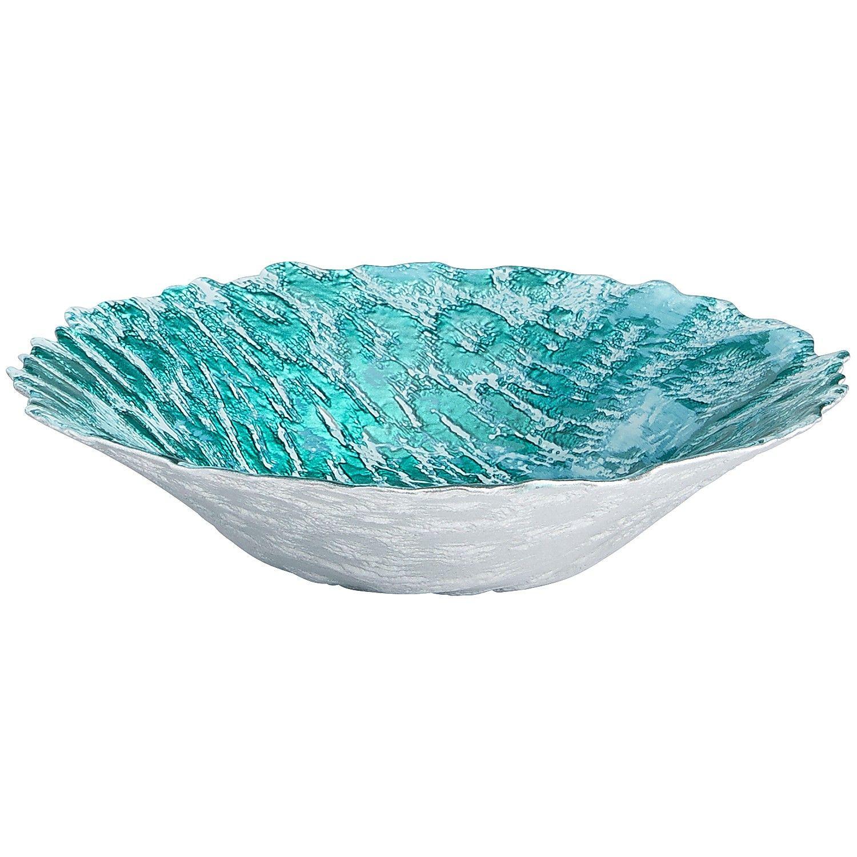 Turquoise Decorative Bowl Turquoise Midnight Splendor Mosaic Vase  Glass  Home Decor Ideas