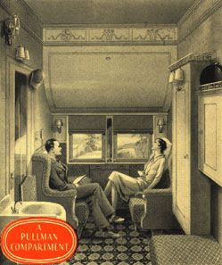pullman compartment during the 1920 39 s pullman company old ways to travel pinterest train. Black Bedroom Furniture Sets. Home Design Ideas