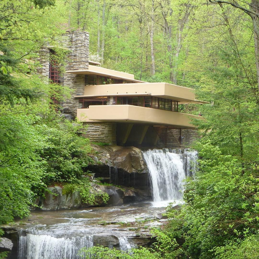 Falling Water House Usa Fallingwater House By Frank Lloyd Wright Location Usa By