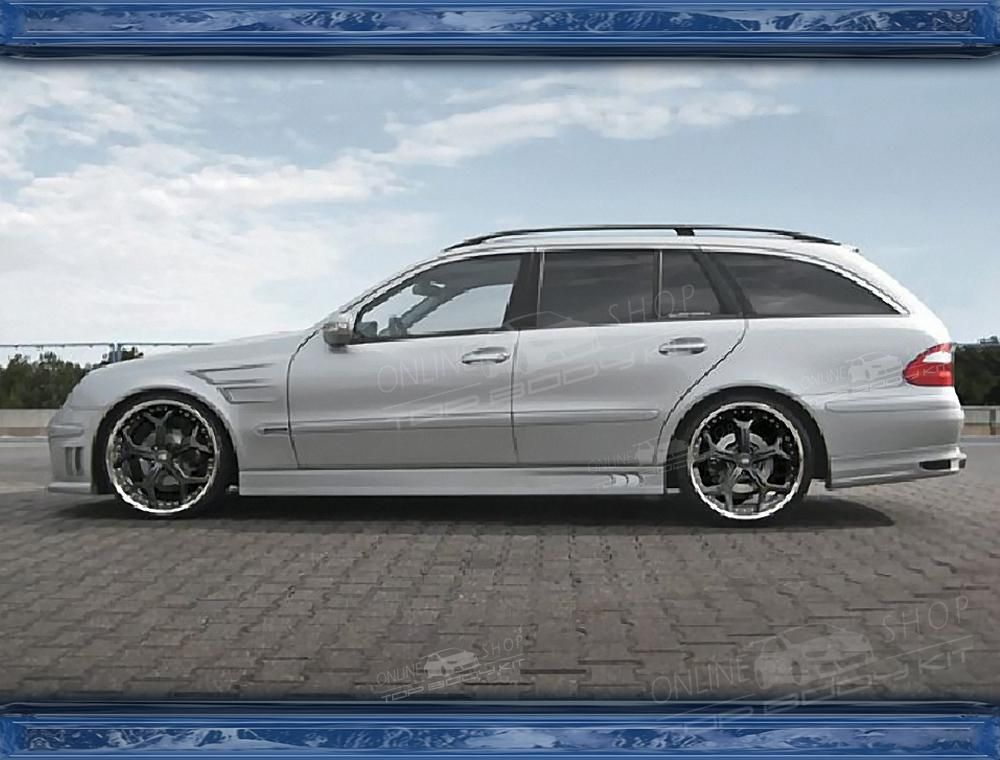 mercedes e class w211 estate body kit top bodykit on. Black Bedroom Furniture Sets. Home Design Ideas