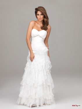 Affordable Prom Dresses long white