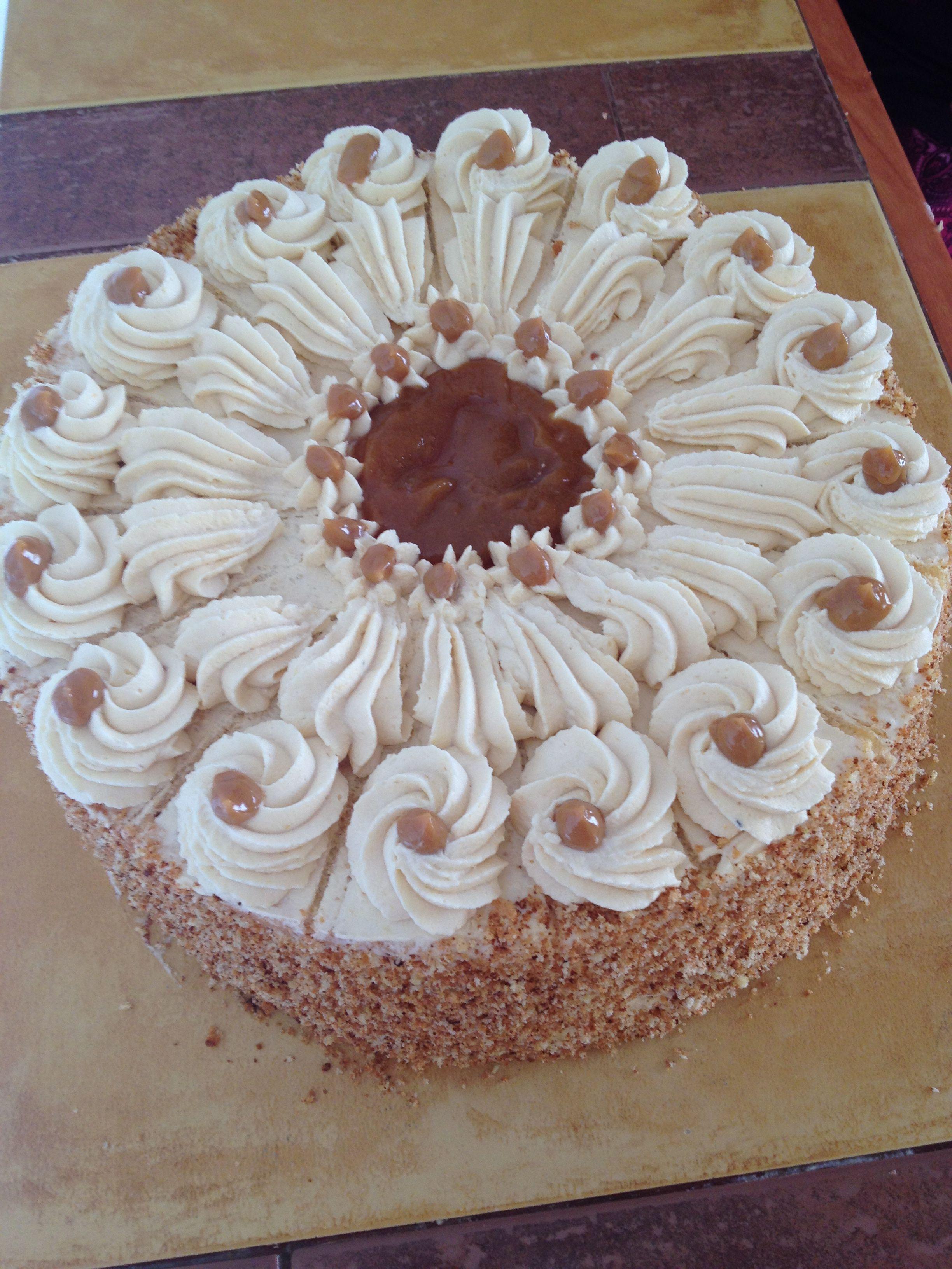 Torta De Biscochuelo Con Crema Chantilly Y Lucuma De Blog