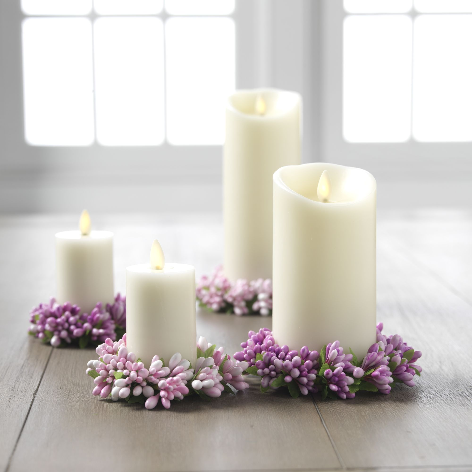 rings of with candle them kerzen candles in bella inside