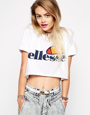 This Ellesse crop will look great teamed with your high-waisted Mom jeans  for that d47a5b1668