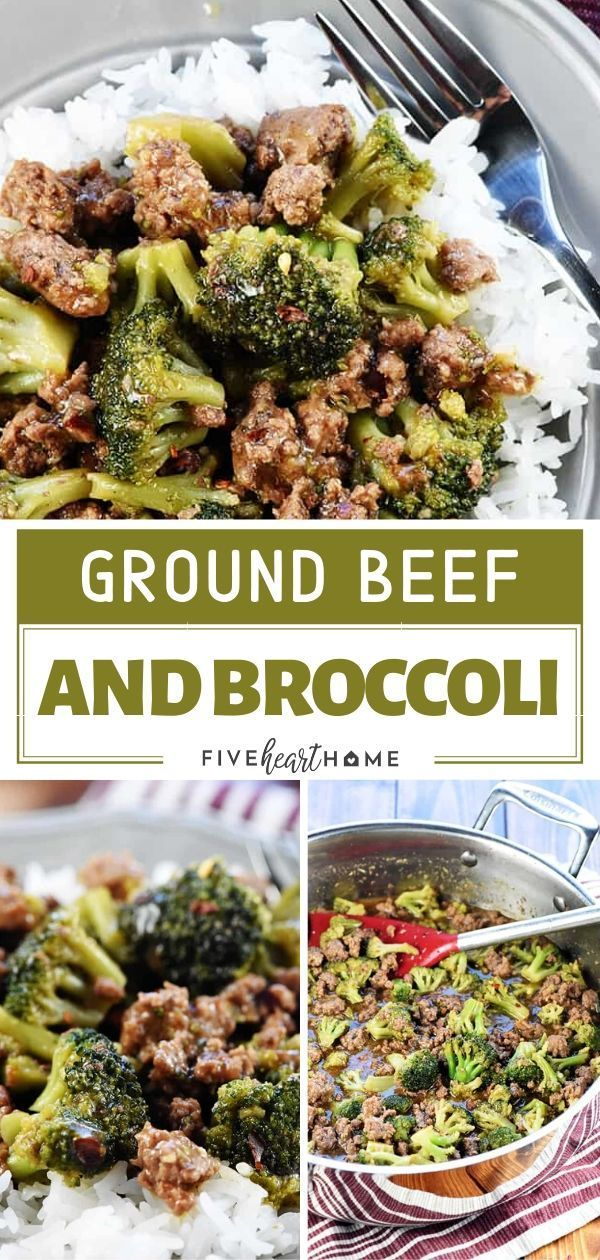 Ground Beef Broccoli Is A Quick And Healthy Recipe