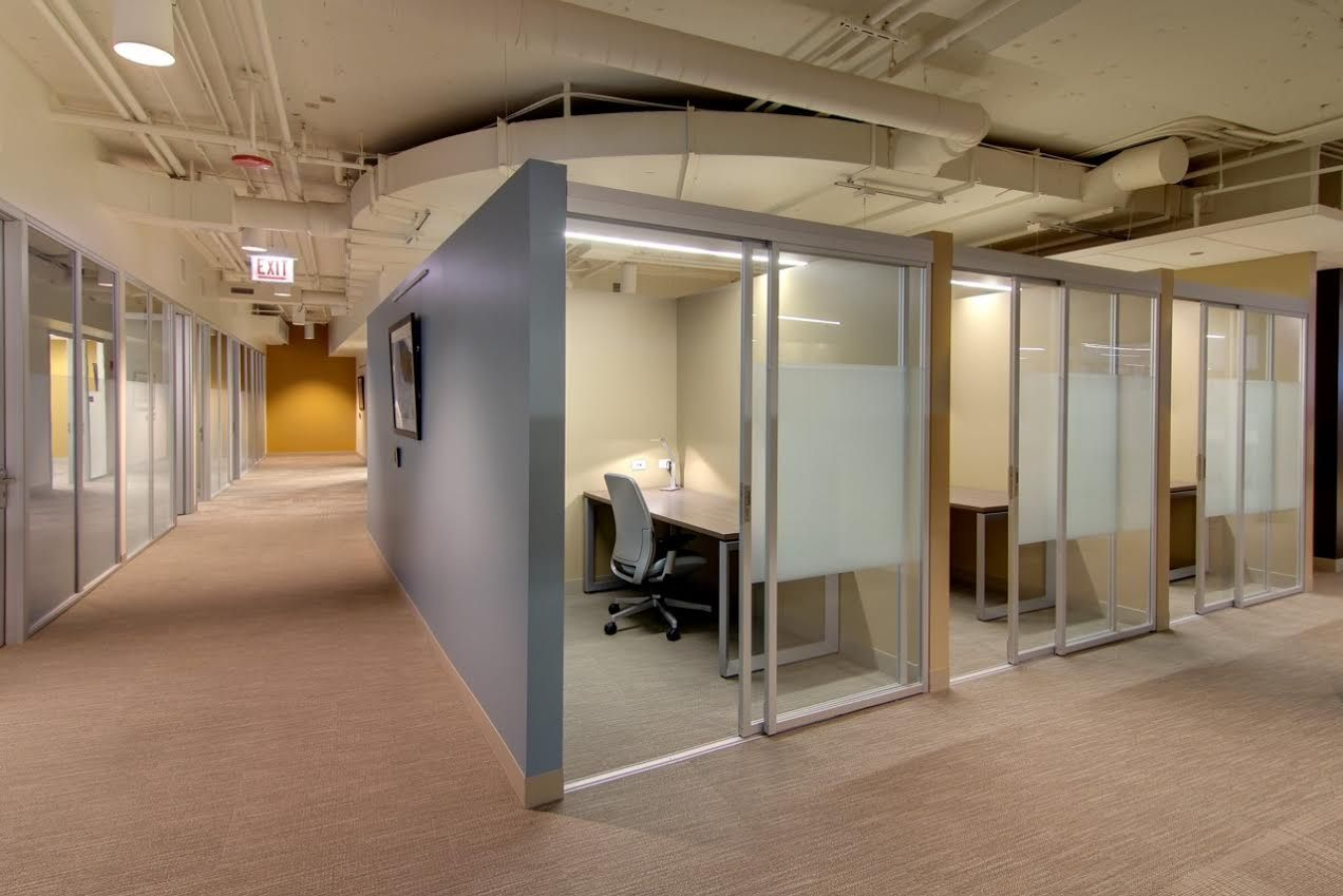 Commercial Glass Workspace Enclosures