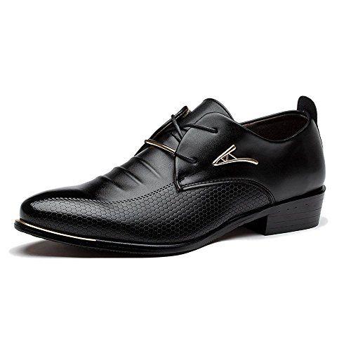 Blivener Chaussures De Sport - Lacets En Cuir Autres Hommes, Bleu, Taille 38 Eu