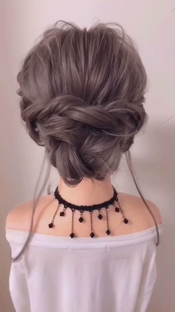 Photo of Braided hairstyle for long hair video tutorial simple and beautiful