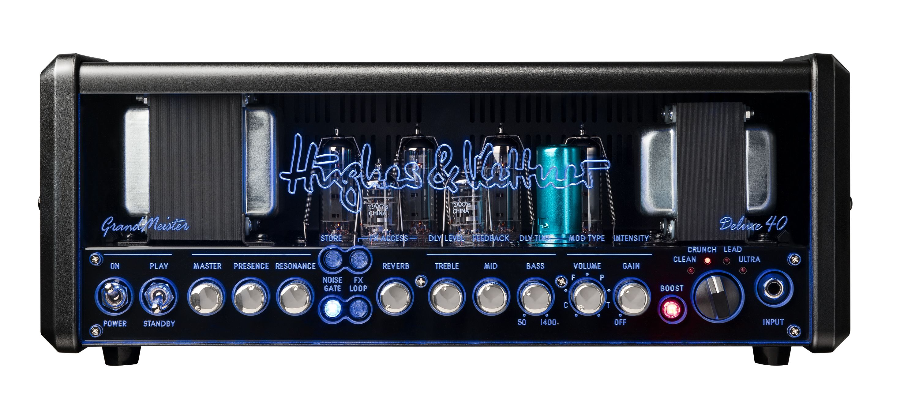 The Front Panel Of Grandmeister Deluxe 40 Find Out More Here Http Hughes And Kettner Com Products Grandmeister Grandmeister Deluxe 40 Hughesandkettner A