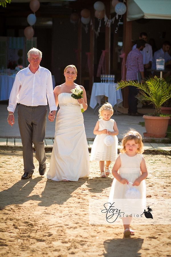 weddings in zakynthos by the bridal consultant terrazzo beach