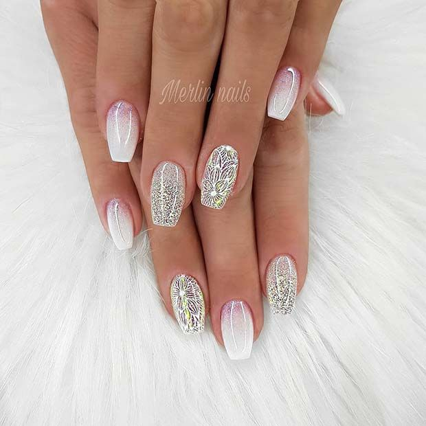 51+ Fabulous Ways to Wear Glitter Nails Designs for 2020