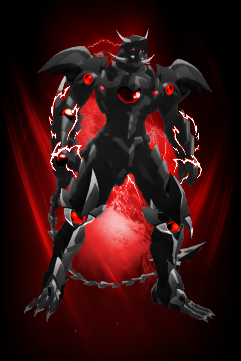 Black Dragon God Emperor King Form Dragon Armor Anime High School Yugioh Monsters Dragonstone armour pieces are rewards from the elven crystal chest. black dragon god emperor king form