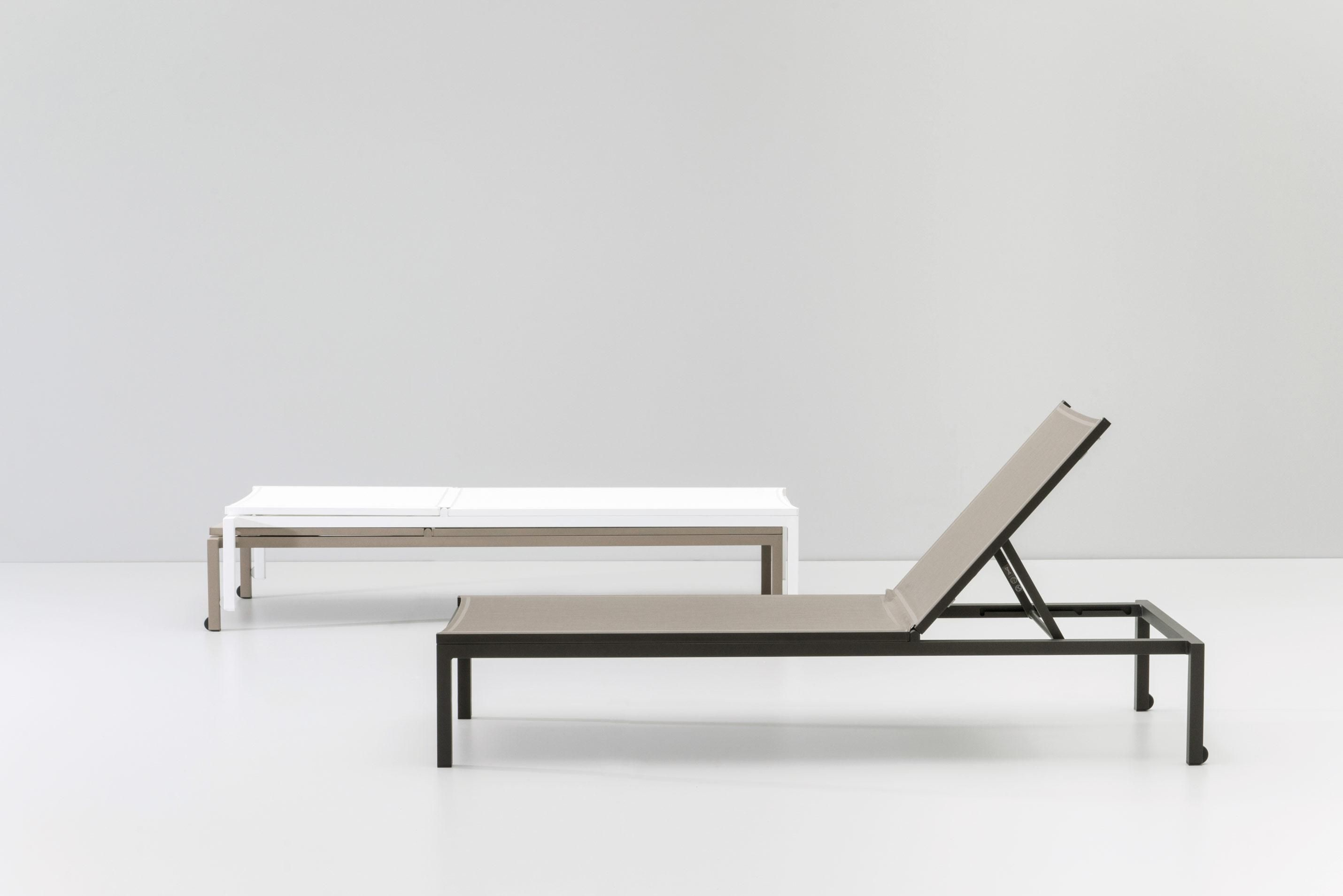 Kettal Landscape Stackable Deck Chair Outdoor