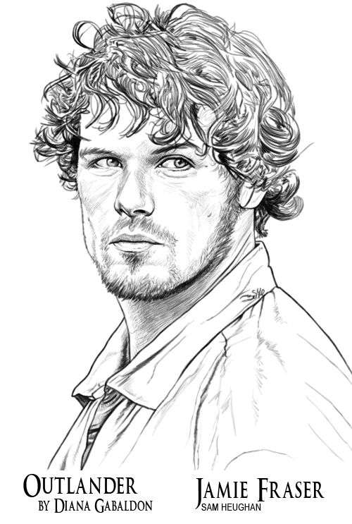 Outlander Colouring Book