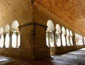 Monestir St. Cugat.- Porxada claustre
