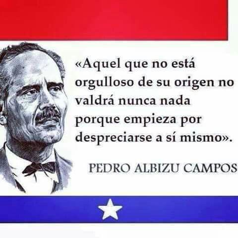 Pedro Albizu Campos Puerto Rico History Puerto Rican