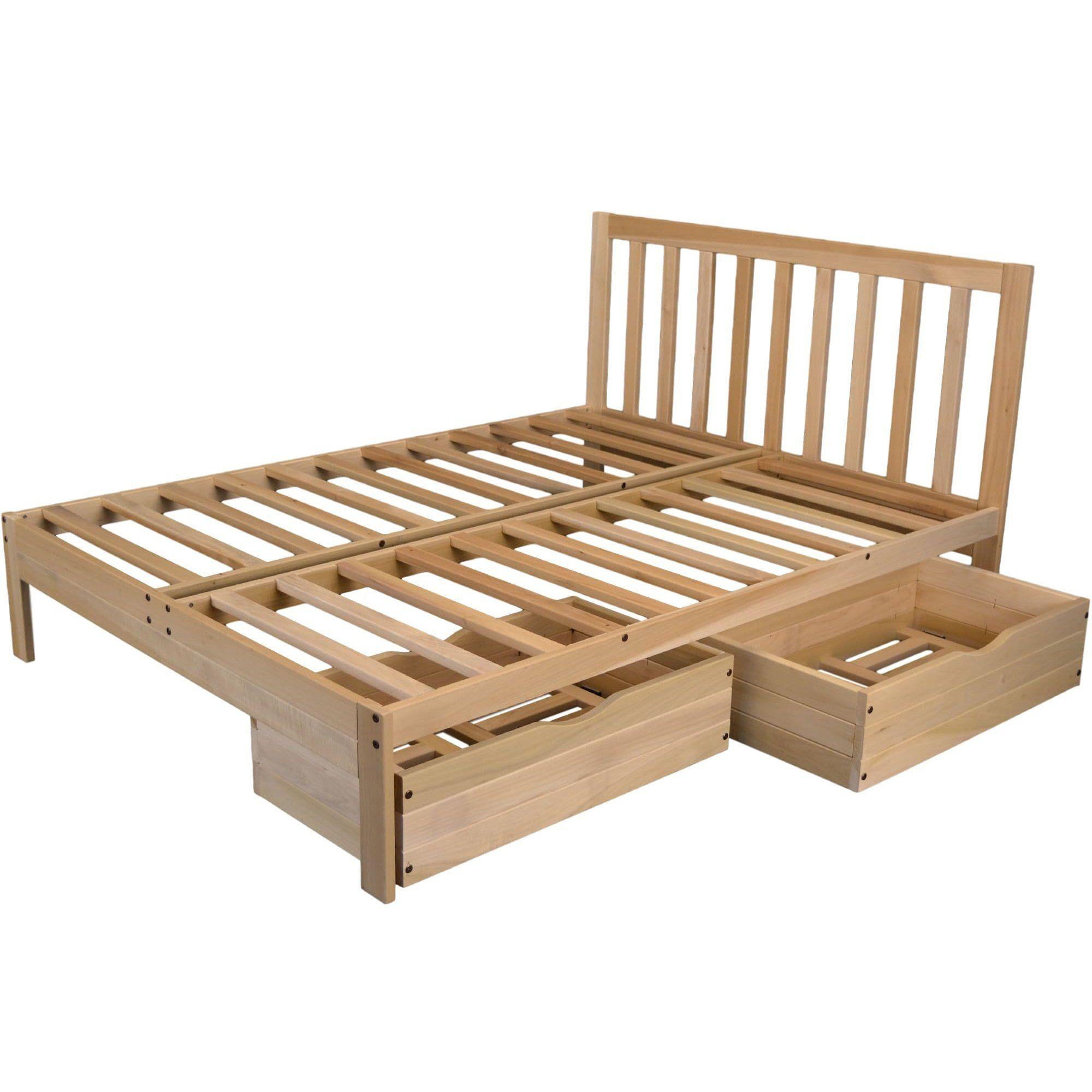 Kd Frames Charleston 2 Platform Bed Platform Bed Bed Walmart Bedding