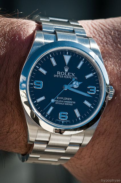 #Rolex Explorer 214270 like .. repin .. comment :) http://amzn.to/X1nbG9