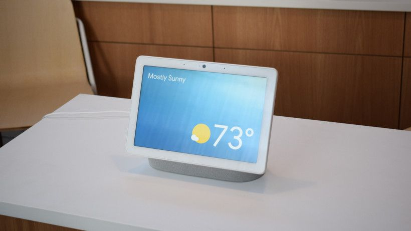 First Look Google Nest Hub Max Is Bigger Better Noisier And Nosier At Google The Only Constant Is Change And Google Nest Google Home Smart Light Bulbs