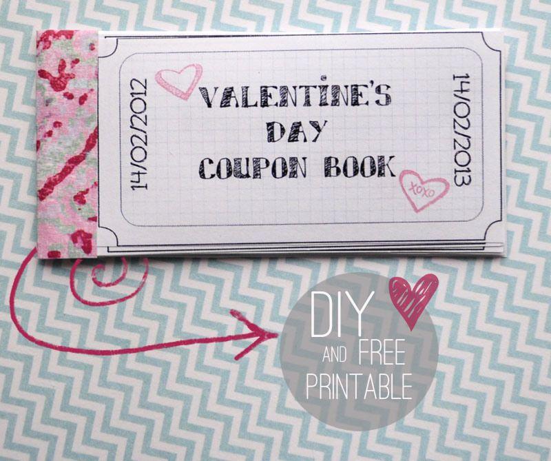 Walentynkowe Kupony Do Wydrukowania Free Printable Valentine Day