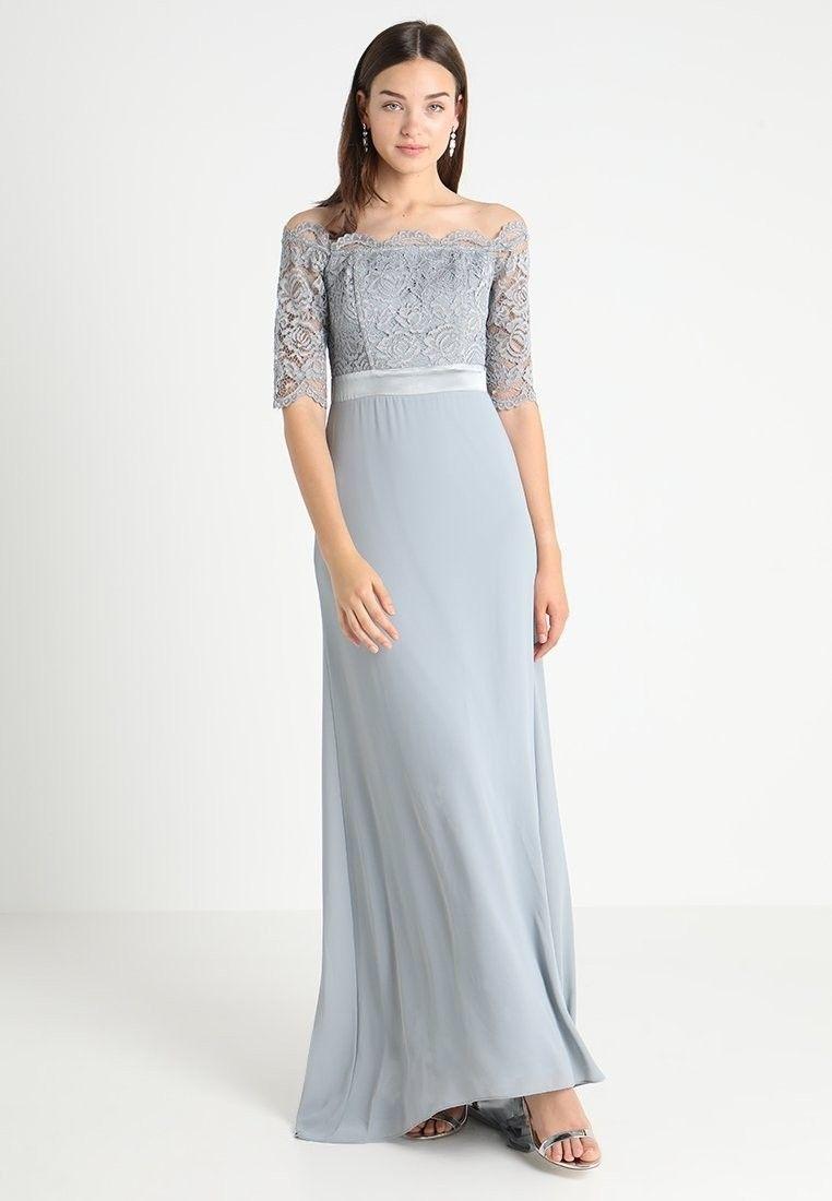 Kleid Trauzeugin / Brautjungfer blau  Trauzeugin und