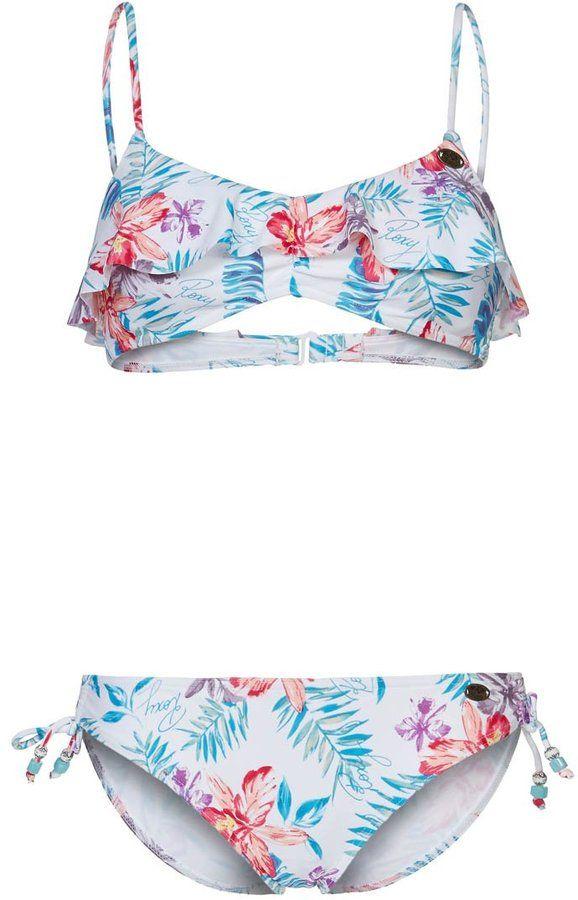 5aeb63f47414e Roxy MULTI HAWAIAN SCOOTER Bikini multicoloured on shopstyle.co.uk ...