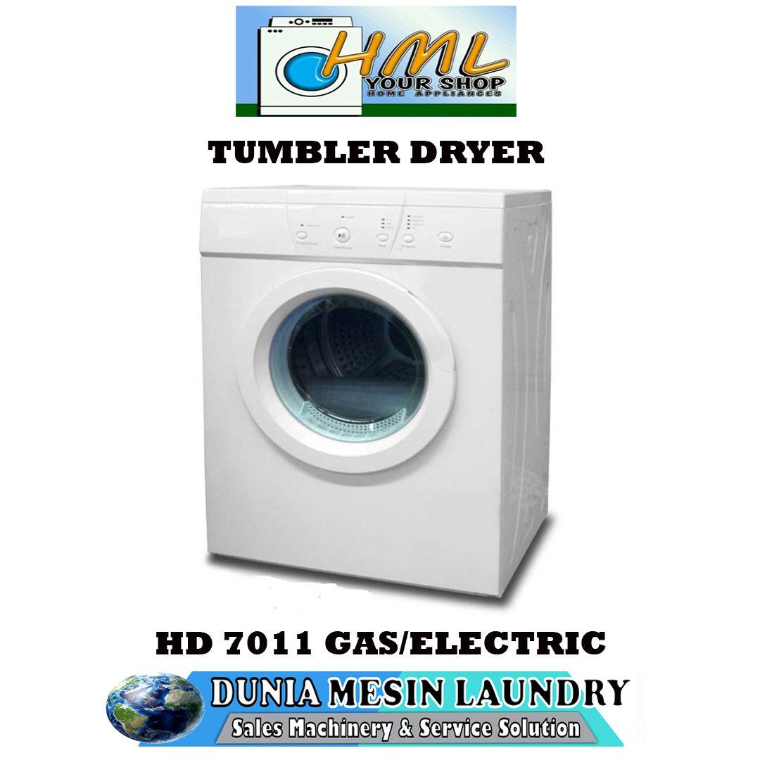 Dryer Hml 7011g Kapasitas 7 Kg Konversi Gas Pengering Mesin