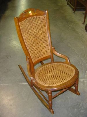 Victorian Nursing Rocker Walnut Frame With Caning | #579384 : antique walnut rocking chair - Cheerinfomania.Com