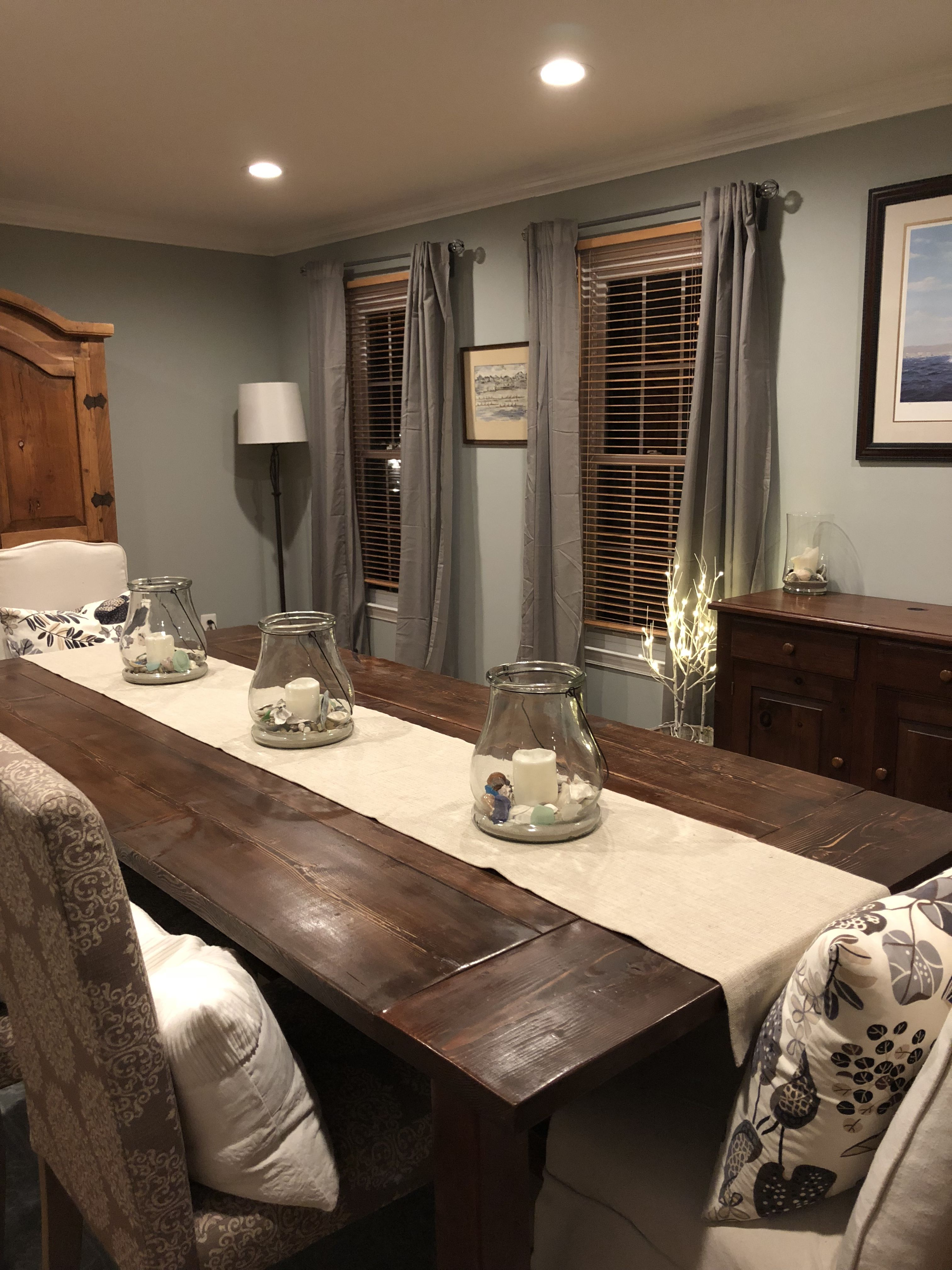 Sherwin Williams Magnetic Gray In My Dining Room Former Living