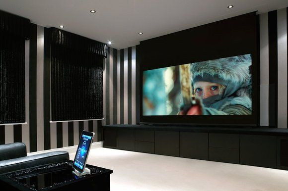 This home cinema in Sutton Coldfield uses the Control4