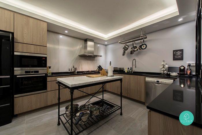 10 Stunning Hdb Flat Transformations That'll Make You Want To Move Extraordinary Kitchen Design Singapore Hdb Flat Inspiration