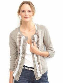 OMG....DIY Ruffle Sweater...yup!