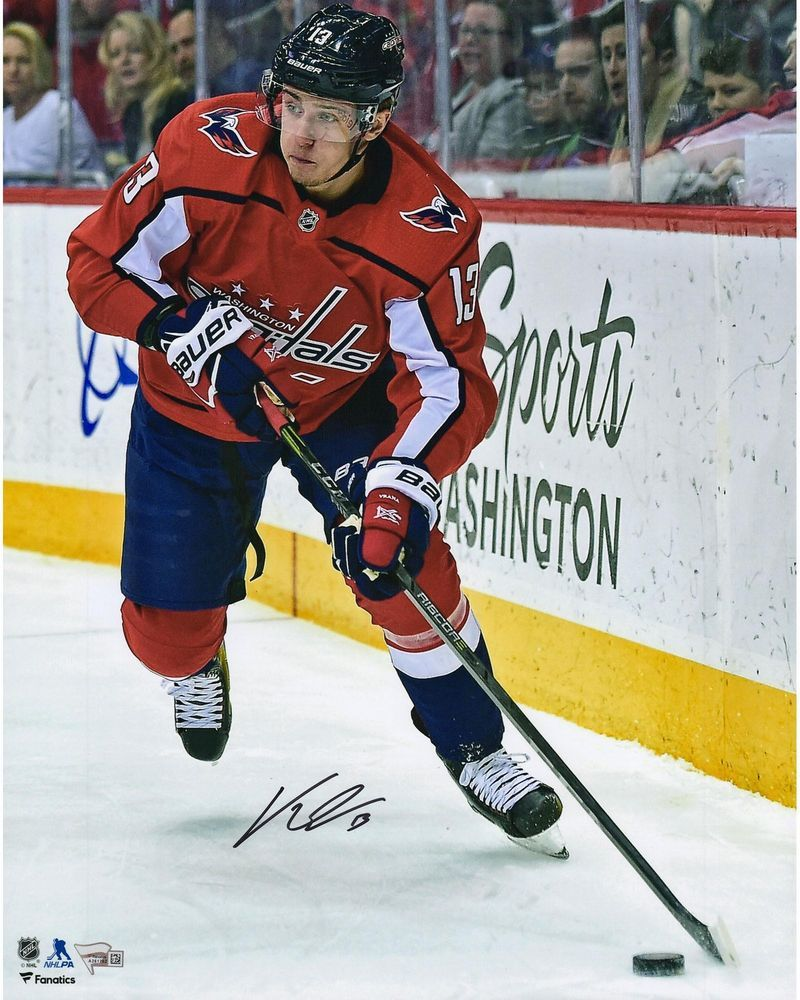 check out 74c97 234b7 Jakub Vrana Washington Capitals Signed 16
