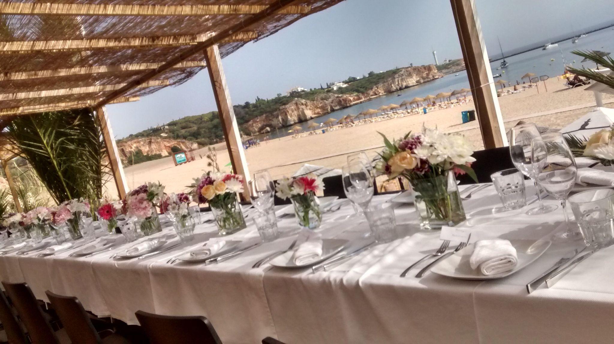 Wedding reception beach venue Algarve www