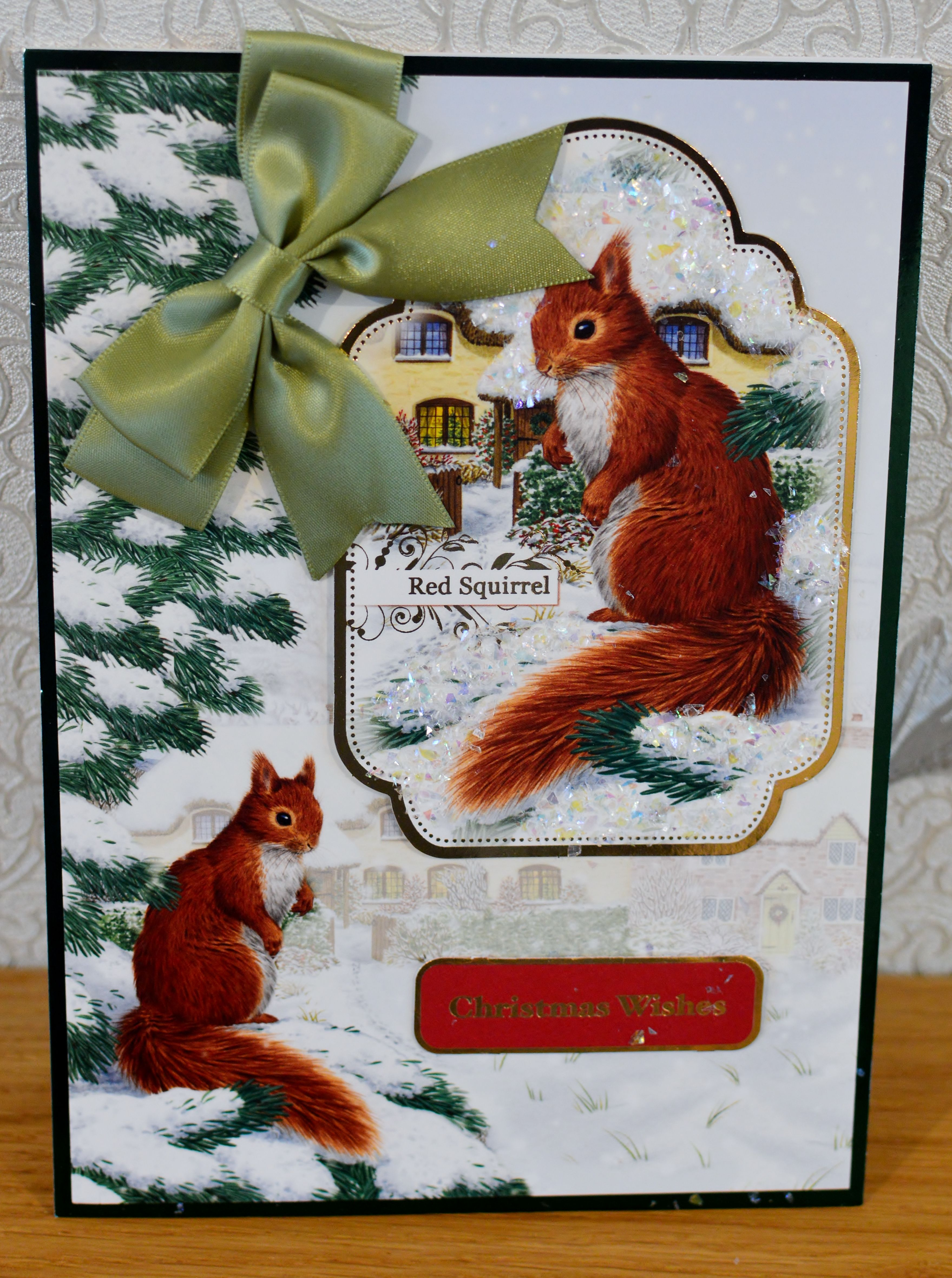 Christmas Card (62) - A5 - makings from Hunkydory \
