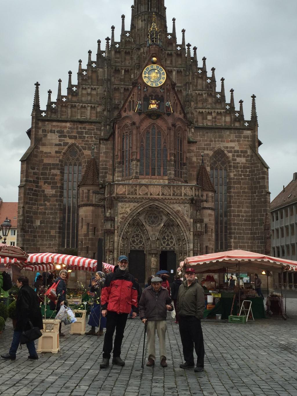 """96 year old """"Battle of the Bulge"""" vet (Frauenkirche, Nuremberg 2016)"""