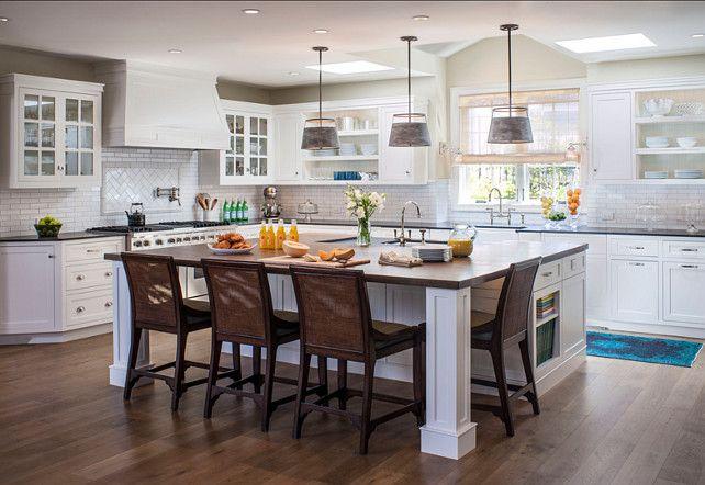 coastal kitchen ideas with open shelves kitchen coastalkitchen - Open Shelving Kitchen Ideas