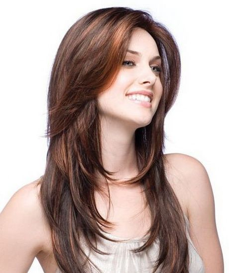 Cortes en cabello largo cabello largo Pinterest